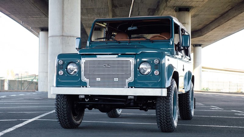 high marine rover old car blauw blue classic quality longjohn denimpeople heritage glasurit land defender auto landrover paint uk john vintage indigo denimhead for long sale