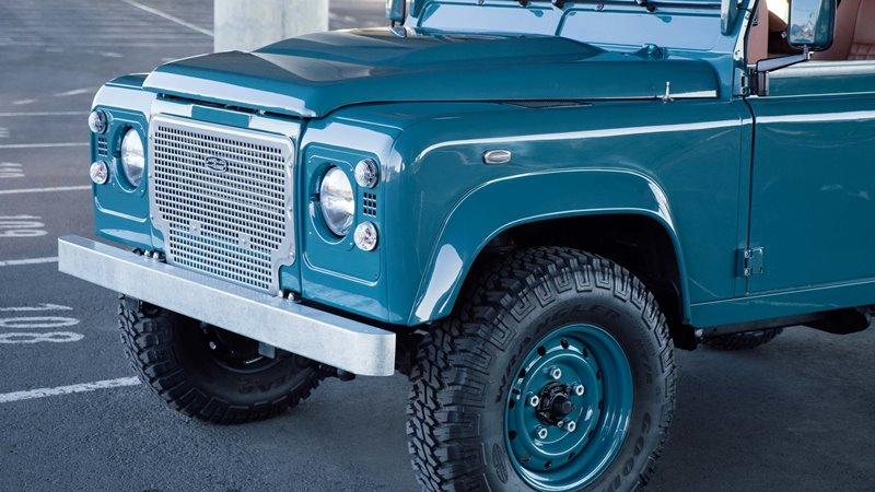 Land Rover Marin >> Land Rover Defender D90 Heritage Long John