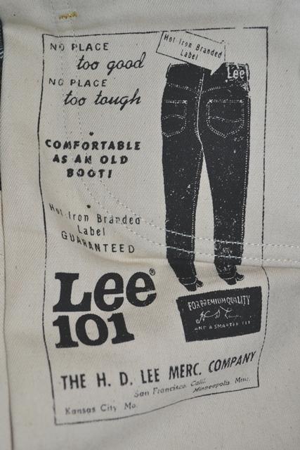 lee 101z jeans denim long john blog blue blauw 23oz limited edition 250 pieces usa denim selvage selvegde golden brown zipper lazy horn button leather patch 2013 right hand denim (12)