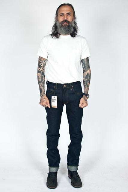lee jeans 101 rider 19oz long john blog meadow sweden store shop denim selvage selvedge blue indigo 5 pocket spijkerbroek 2015 edition 19 ounce oz ons warp weft (3)