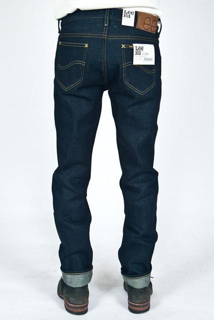lee jeans 101 rider 19oz long john blog meadow sweden store shop denim selvage selvedge blue indigo 5 pocket spijkerbroek 2015 edition 19 ounce oz ons warp weft (5)