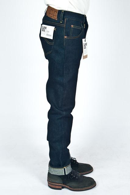 lee jeans 101 rider 19oz long john blog meadow sweden store shop denim selvage selvedge blue indigo 5 pocket spijkerbroek 2015 edition 19 ounce oz ons warp weft (6)