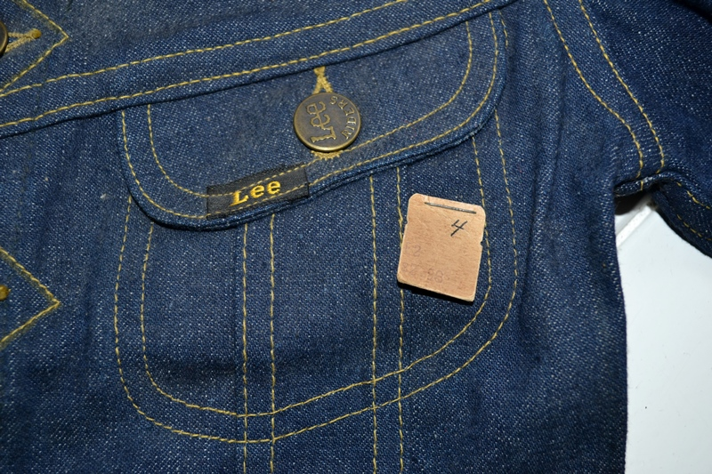 lee jeans vintage long john blog rider riders jacket union made sanforized original usa us made denim jeans deadstock (13)