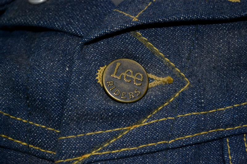 lee jeans vintage long john blog rider riders jacket union made sanforized original usa us made denim jeans deadstock (9)