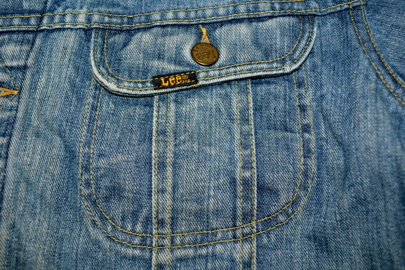 lee jeans vintage rider jack jacket long john blog blue rigid raw washed oud origineel original blue rigid raw selvage selvedge chainstich authentic usa blauw spijkerjas (11)