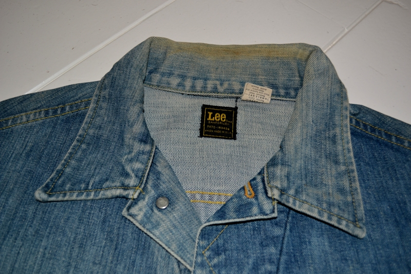 lee jeans vintage rider jack jacket long john blog blue rigid raw washed oud origineel original blue rigid raw selvage selvedge chainstich authentic usa blauw spijkerjas (9)