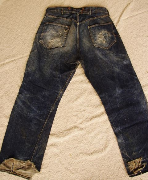 0ec087fb04 Vintage Levi s  Miner  Jeans From 1920 For Sale On Ebay - Long John