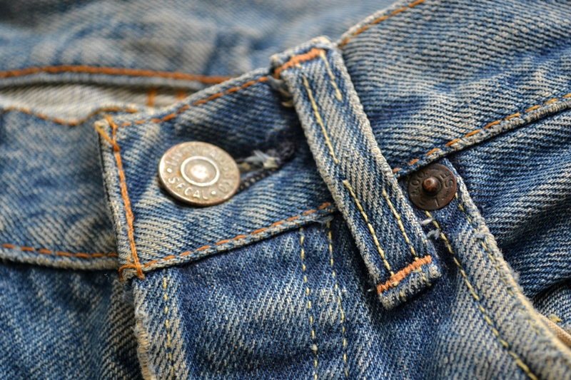 levi's 501 big e 1960 vintage long john blog jeans denim rare treasure worn-out blue blauw usa us cone mills levi strauss selvage selvedge button number 6 washed out rigid raw unwashed 5 pocket  (16)