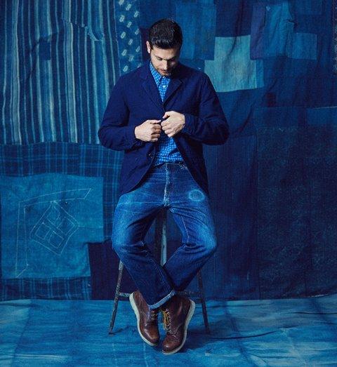 levis jeans denim long john blog we are 501 model fit blue indigo models usa 2016 campaign lookbook story  (2)