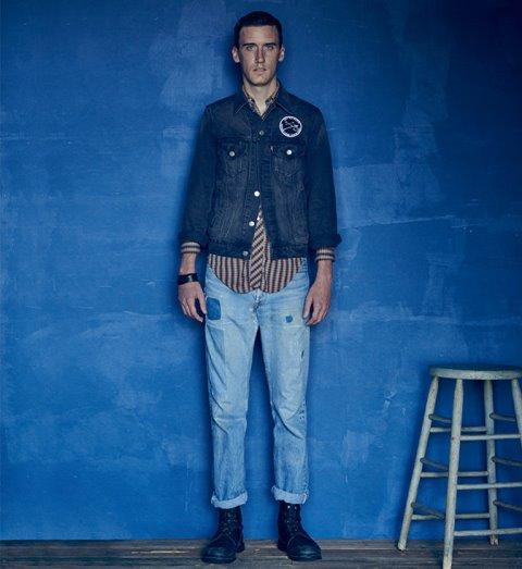 levis jeans denim long john blog we are 501 model fit blue indigo models usa 2016 campaign lookbook story  (7)