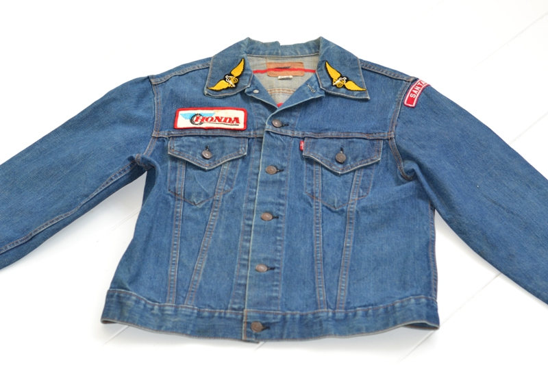 levis levi's jeans jack long john blog denim vintage biker clothing bikes motorcycles blue rigid custommade special honda usa american patched patches  (2)