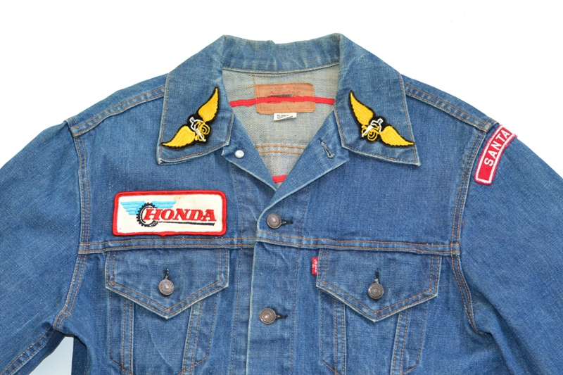 levis levi's jeans jack long john blog denim vintage biker clothing bikes motorcycles blue rigid custommade special honda usa american patched patches  (3)