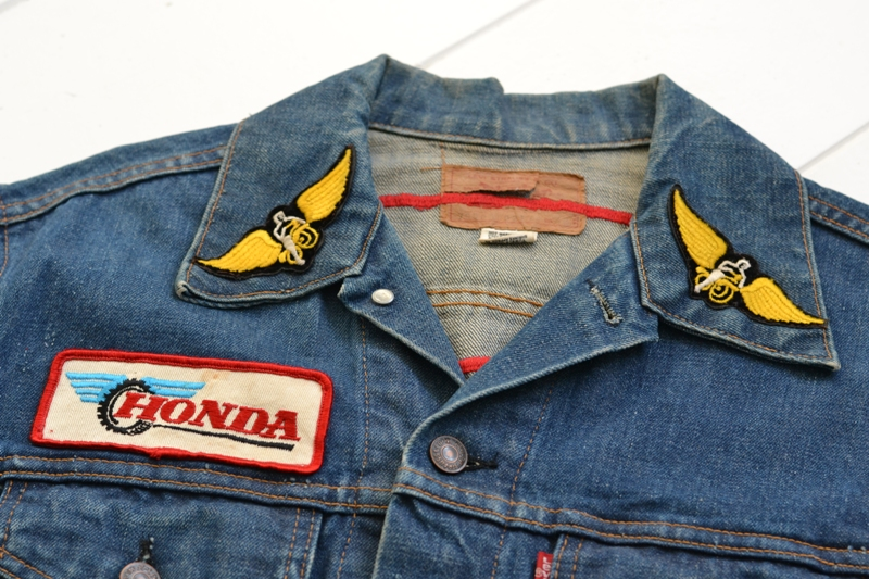levis levi's jeans jack long john blog denim vintage biker clothing bikes motorcycles blue rigid custommade special honda usa american patched patches  (4)