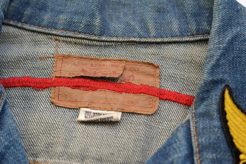 levis levi's jeans jack long john blog denim vintage biker clothing bikes motorcycles blue rigid custommade special honda usa american patched patches  (9)
