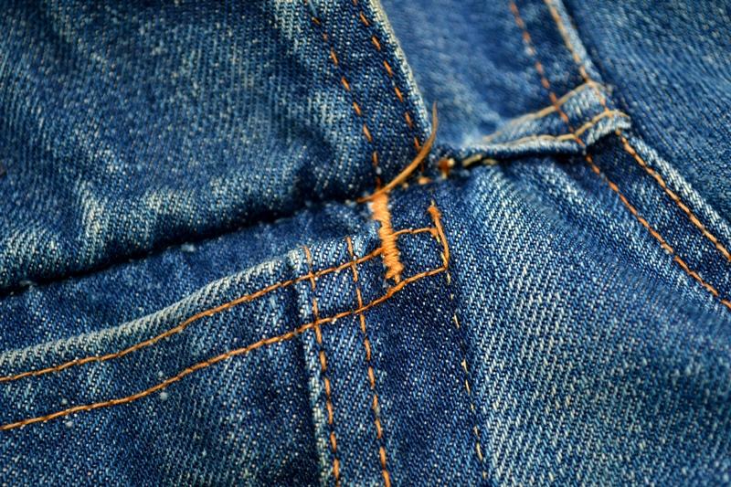 levis trucker jacket 557xx type 3 long john blog blue indigo denim jeans usa western 1962 worn out vintage original item clothing cowboys miners spijkerjas spijkerjack levi strauss (11)