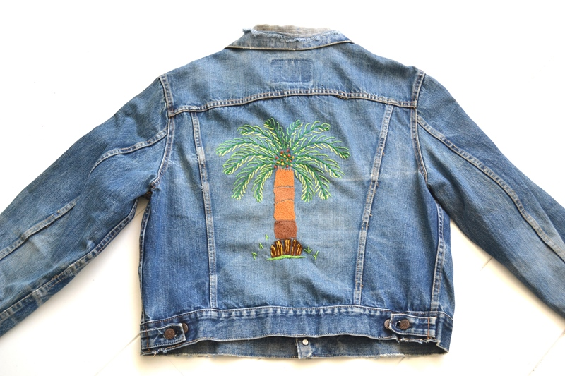 levis trucker jacket 557xx type 3 long john blog blue indigo denim jeans usa western 1962 worn out vintage original item clothing cowboys miners spijkerjas spijkerjack levi strauss (13)