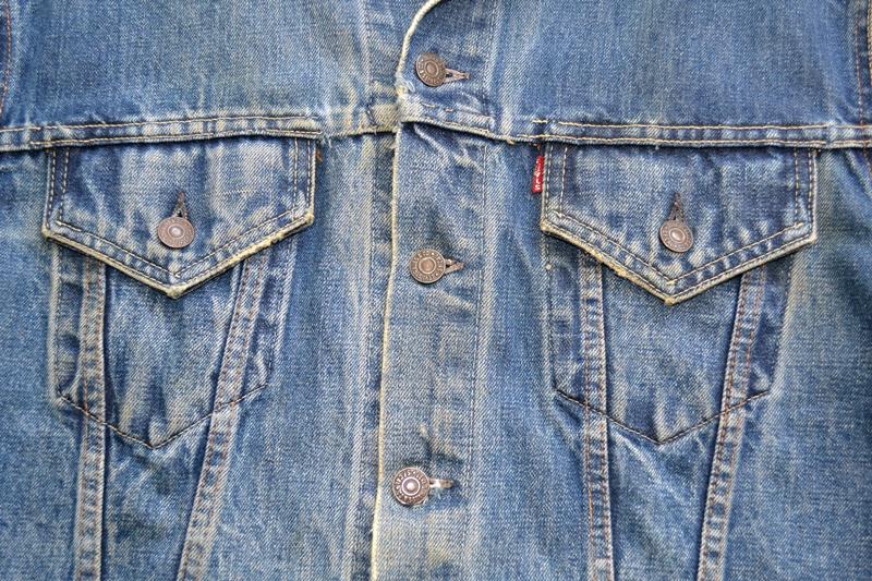 levis trucker jacket 557xx type 3 long john blog blue indigo denim jeans usa western 1962 worn out vintage original item clothing cowboys miners spijkerjas spijkerjack levi strauss (5)