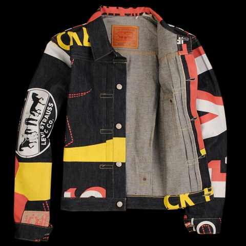 levi's vintage clothing banner items long john blog silk screen type 1 trucker jacket jeans 501 1937 duffle bag fall winter 2014 limited edition tribute specials fabric denim selvedge cone mills  (8)