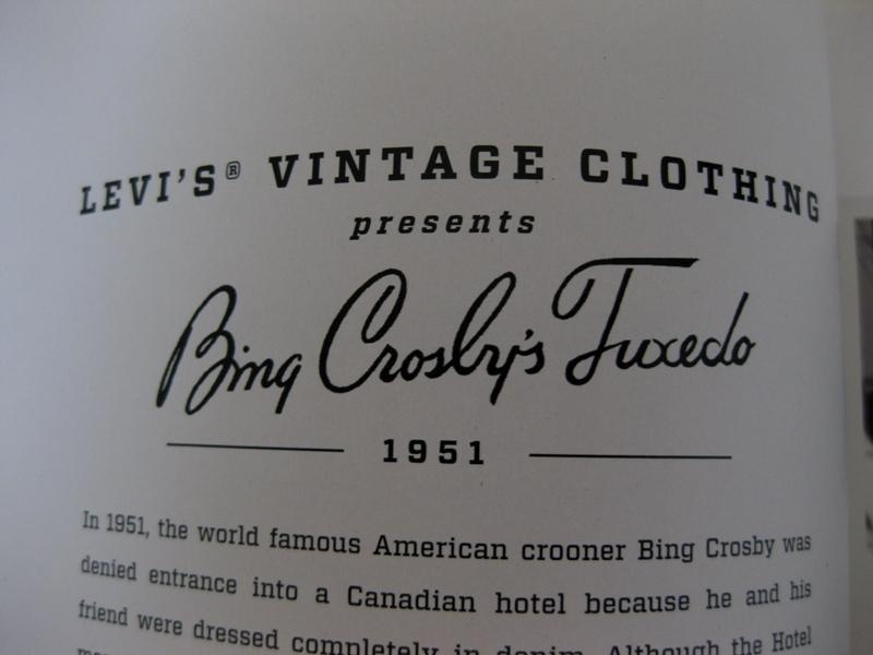 levi's vintage clothing lvc long john blog jeans denim usa vintage rigid raw blue spring summer 2014 lookbook amsterdam authentic american usa bill crosby big e orange tab shirt archives (1)