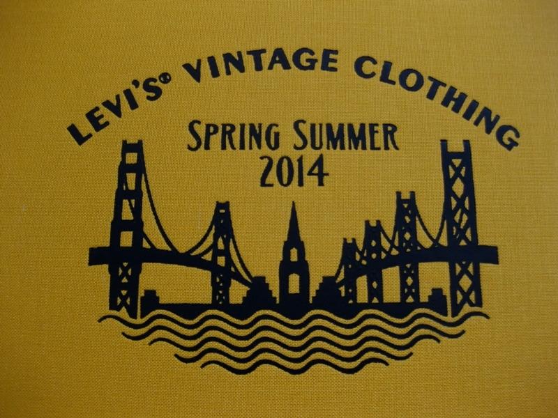 levi's vintage clothing lvc long john blog jeans denim usa vintage rigid raw blue spring summer 2014 lookbook amsterdam authentic american usa bill crosby big e orange tab shirt archives (3)