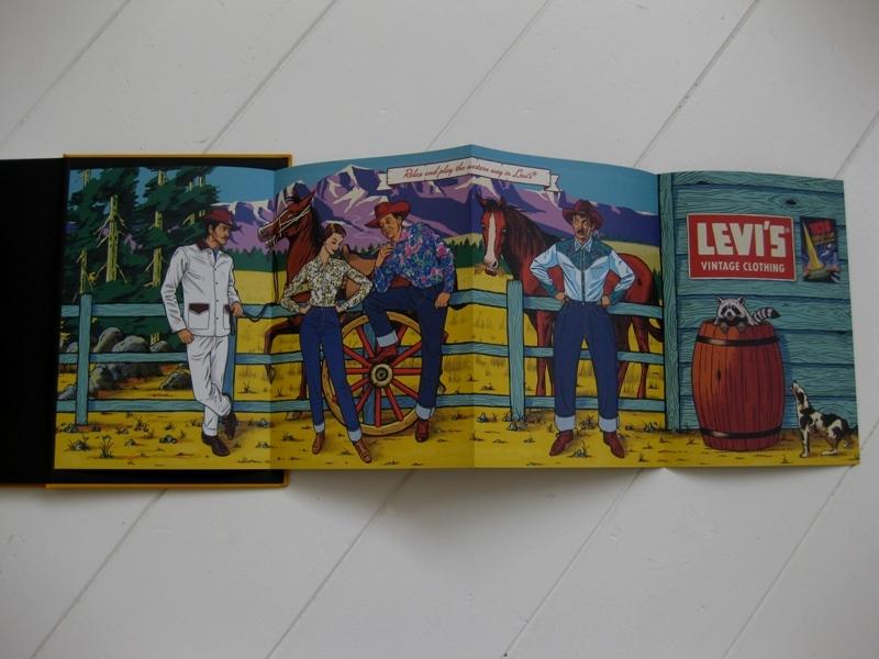 levi's vintage clothing lvc long john blog jeans denim usa vintage rigid raw blue spring summer 2014 lookbook amsterdam authentic american usa bill crosby big e orange tab shirt archives (4)