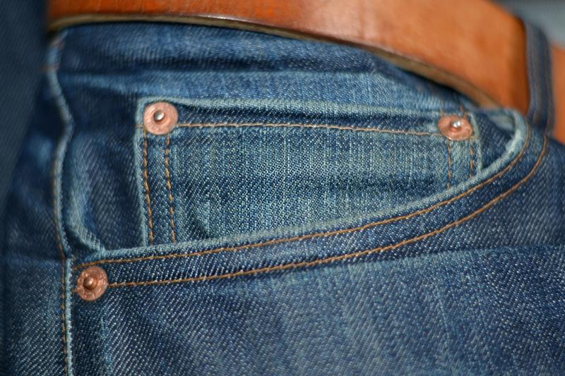 levis vintage clothing lvc long john blog rigid raw unwashed blue 14oz cone mills big e denim jeans usa worn-out (7)