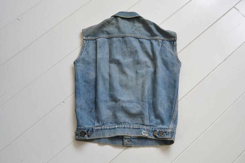 levi's vintage long john blog 507XX jack jacket type 2 1950 big e bige red tab worn-out original bleu inidgo usa america selvage selvedge buttons rock and roll elvis james dean (10)