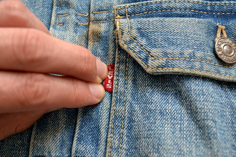 levi's vintage long john blog 507XX jack jacket type 2 1950 big e bige red tab worn-out original bleu inidgo usa america selvage selvedge buttons rock and roll elvis james dean (6)