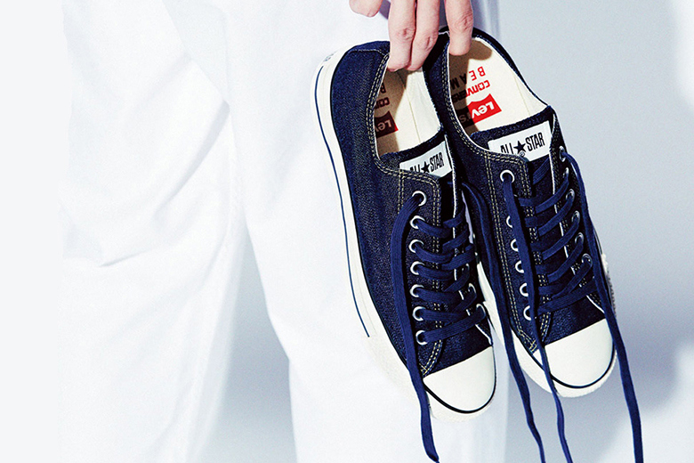 levis-x-converse-denim-all-stars-for-beams-long john blog white oak denim selvage jeans sneaker 2015 collab special edition japan exclusive usa stores store (1)