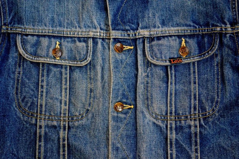 lois denim jeans long john blog spain 1962 michael blankenstein eindhoven holland tejana jacket slim fit workwear abba bjorn borg bull is back blue rigid honey combs non-selvage made in spain leather patch  ( (10)