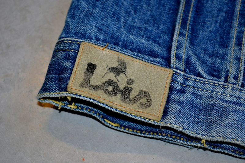 lois denim jeans long john blog spain 1962 michael blankenstein eindhoven holland tejana jacket slim fit workwear abba bjorn borg bull is back blue rigid honey combs non-selvage made in spain leather patch  ( (2)