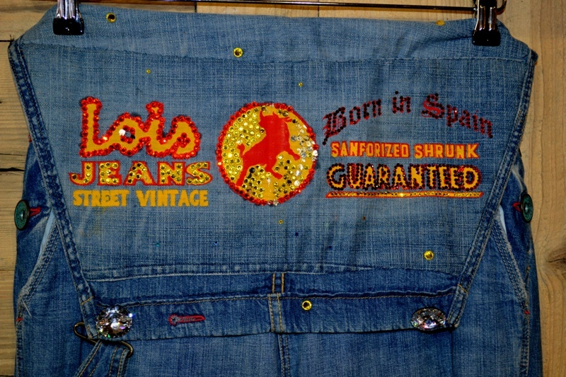 lois jeans denim long john blog store eindhoven strijp-s spanje spain valencia blue rigid raw torero torera number 1 nr 1 originals vintage 1970 abba johan cruyff bjorn borg jacket jack butter fly (1)