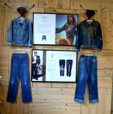 lois jeans denim long john blog store eindhoven strijp-s spanje spain valencia blue rigid raw torero torera number 1 nr 1 originals vintage 1970 abba johan cruyff bjorn borg jacket jack butter fly (2)