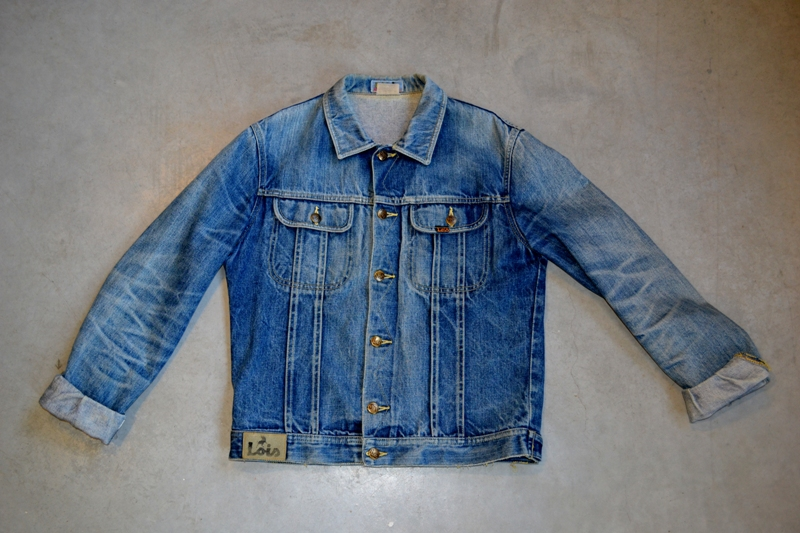 lois jeans denim long john blog store eindhoven strijp-s spanje spain valencia blue rigid raw torero torera number 1 nr 1 originals vintage 1970 abba johan cruyff bjorn borg jacket jack butter fly (6)