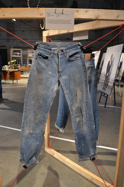 Denim archive expo at blueprint amsterdam denim days long john long john blog antonio di battista wouter munnichs amsterdam denim days 2014 jeans expo worn malvernweather Images