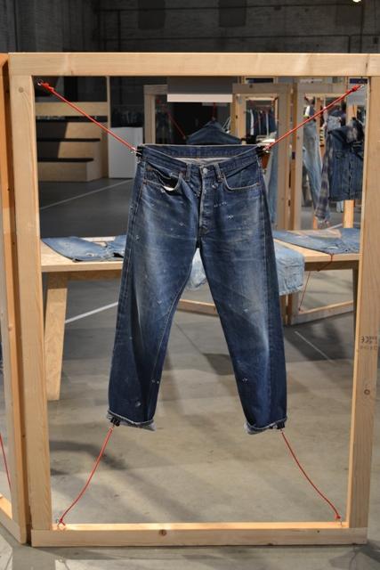 long john blog antonio di battista wouter munnichs amsterdam denim days 2014 jeans expo worn-out italy blue blanket selvage usa selvedge raw blueprint modefabriek kingpins fair show (23)