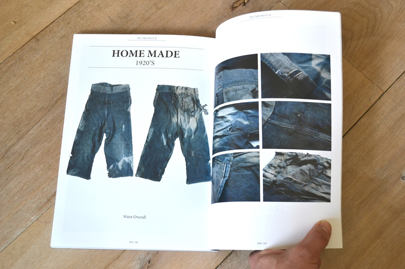 my archive 2 antonio di battista long john blog book crackers magazine italy denim boulevard jeans denim workwear vintage deadstock publication rare selvage selvedge miners cowboys rags pieces blue indigo usa