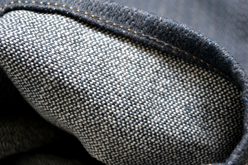 nobrandedon aryan pandaam raafi long john blog handwoven handspun natural indigo jeans denim broken twill redline selvage indonesia limited edition sashiko patch handmade (12)