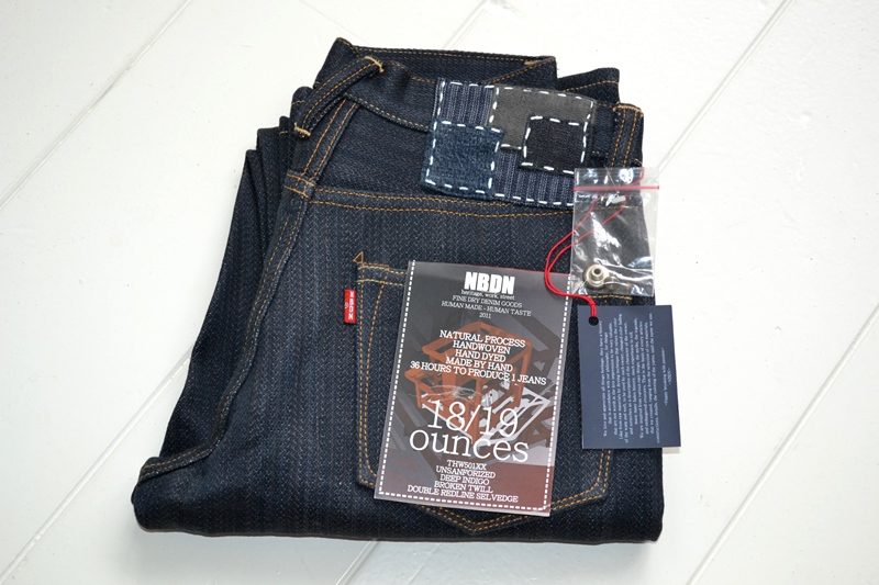 nobrandedon aryan pandaam raafi long john blog handwoven handspun natural indigo jeans denim broken twill redline selvage indonesia limited edition sashiko patch handmade (4)