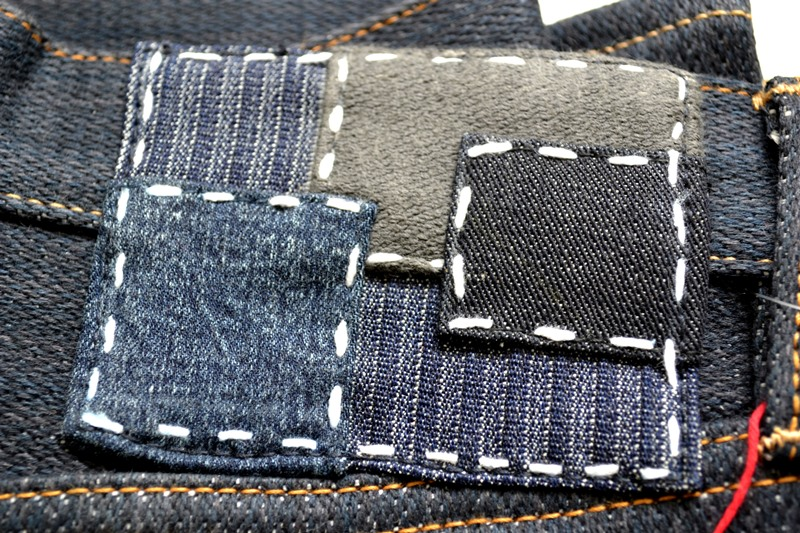 nobrandedon aryan pandaam raafi long john blog handwoven handspun natural indigo jeans denim broken twill redline selvage indonesia limited edition sashiko patch handmade (7)