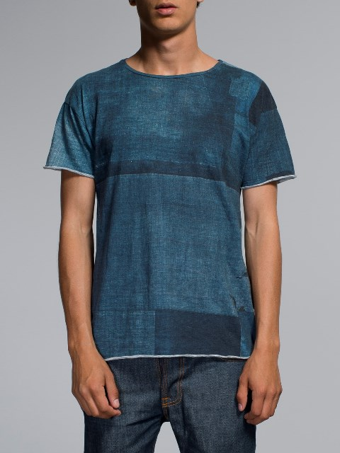 nudie jeans long john blog boro japan tshirt blue blauw shades indigo natural print printed sweden maria denim brand clothing 2004 handmade (2)