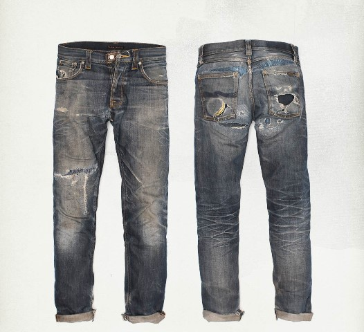 nudie jeans long john blog denim rigid selvage selvedge worn-out rigid raw sweden nudiejeans blue indigo  (2)