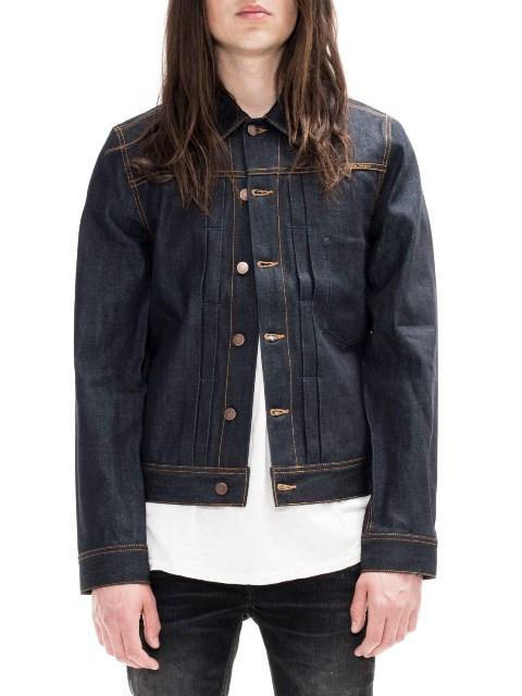 nudie jeans sonny dry ring denim long john blog denim rigid raw unwashed selvage selvedge blue indigo jacket jack sweden  (3)