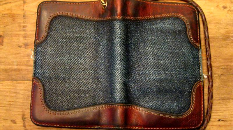 pol houtkamp lee 101 wallet 23oz worn-out long john blog denim jeans selvage selvedge blue indigo leather ageing aged oud geworden spijkerbroek marketing specialist events expo  (4)