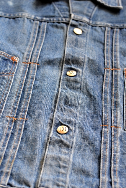 power house 101 powr house long john blog jeans jacket jack denim vintage 1960 montgomery ward authentic original denimheads blue indigo worn-out wornout faded (7)