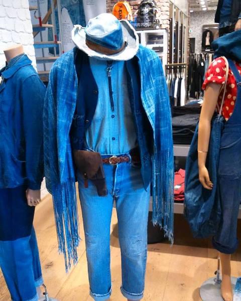 rambam denim days long john blog jeans indigo event store winkel retail fair evenement eindhoven holland nederland facing west spijkerbrij re-use workwear spijkerbroeken blue blauw (3)