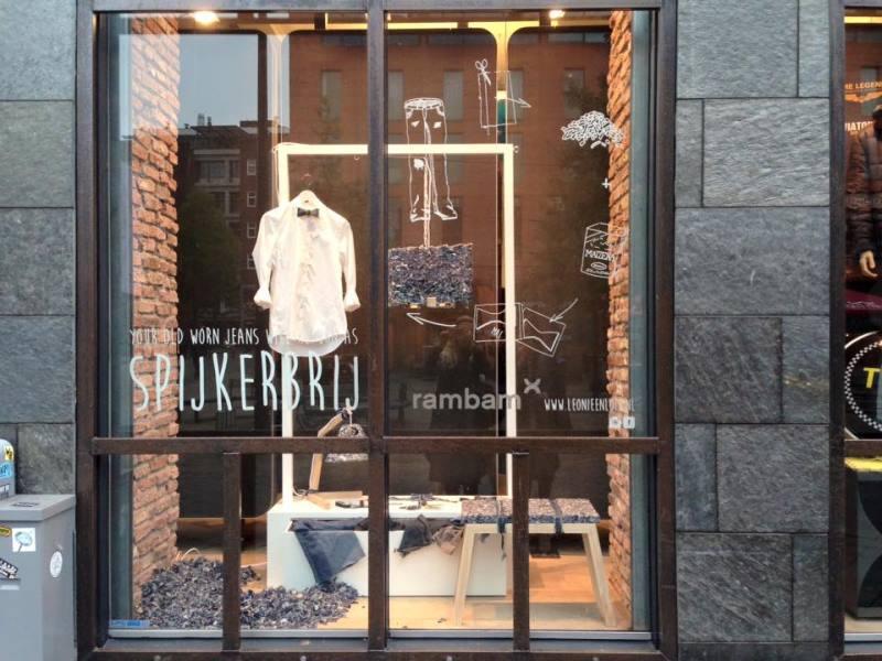 rambam denim days long john blog jeans indigo event store winkel retail fair evenement eindhoven holland nederland facing west spijkerbrij re-use workwear spijkerbroeken blue blauw (5)