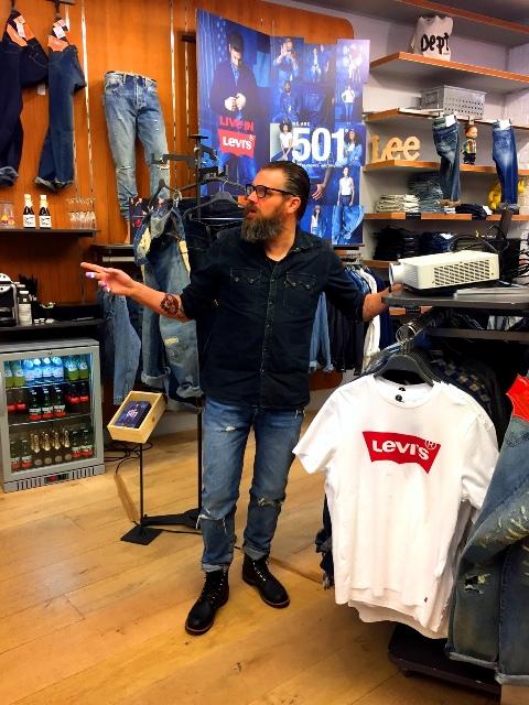 rambam store long john blog jeans denim spijkerbroeken winkel retail event levi's levi strauss 501 fit model 2016 denimevent  (9)