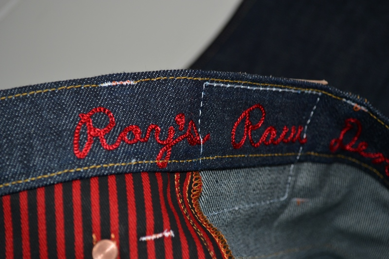 ray's denim long john blog michigan usa cone mills fabric right hand selvage selvedge handmade measurements pockets flasher buttons copper jeans jean rock and roll style blue indigo (13)