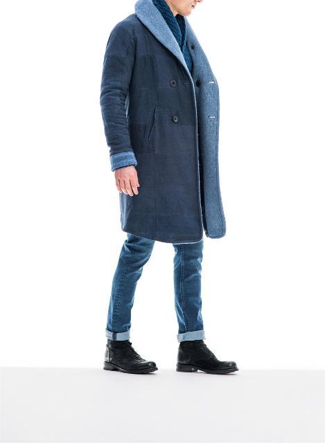 re-cut kendo coat denham jeans long john blog re-use blankets vintage fall winter 2015 jas jack jacket recycle blue indigo rags selvage selvedge jason denham amsterdam collection denim (1)